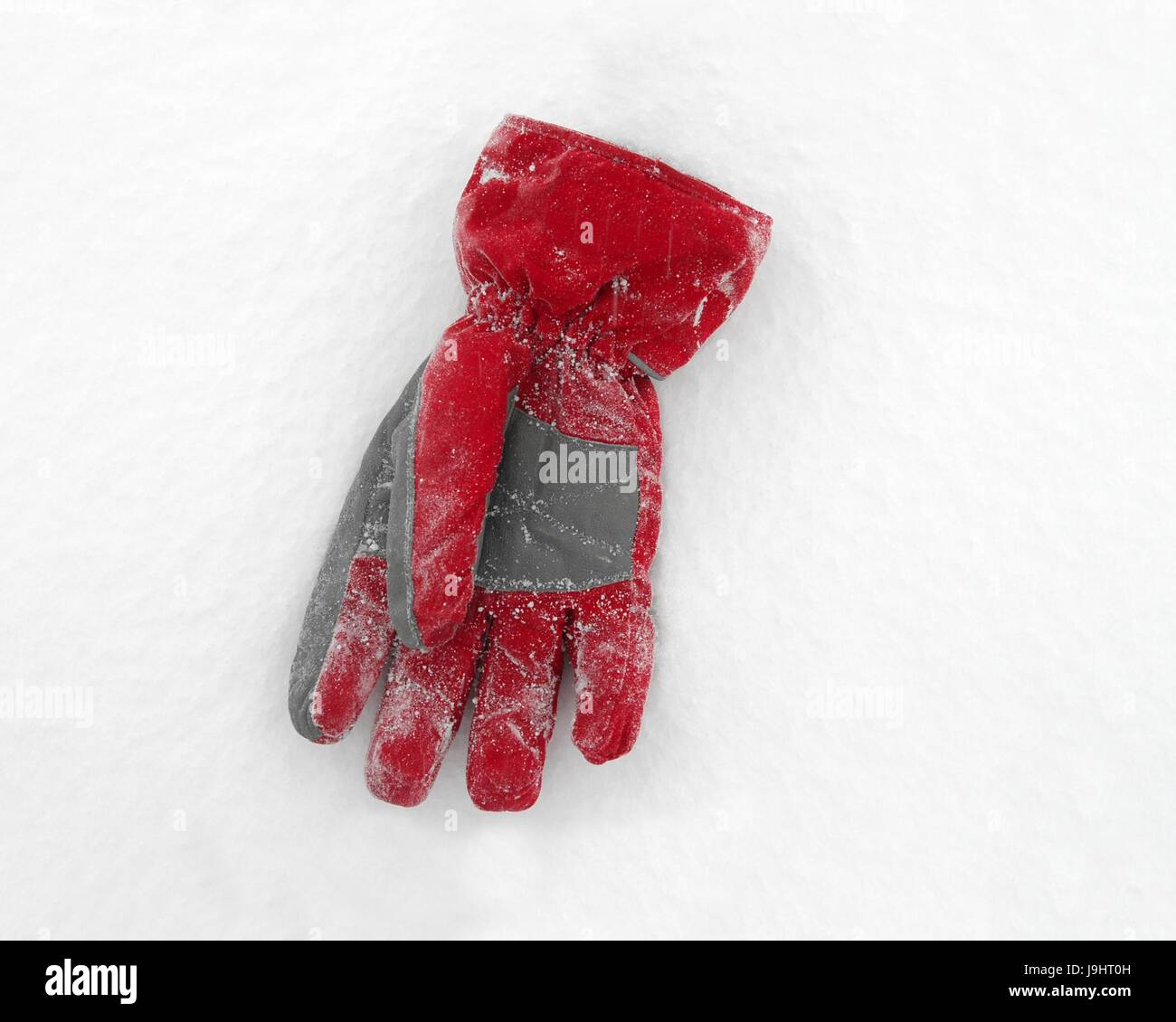 winter, snow, coke, cocaine, material, drug, anaesthetic, addictive drug, - Stock Image