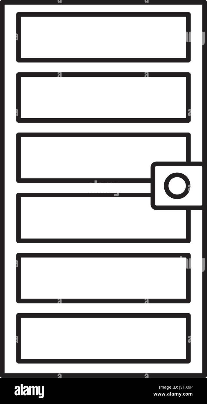 door frame icon Stock Vector Art & Illustration, Vector Image ...