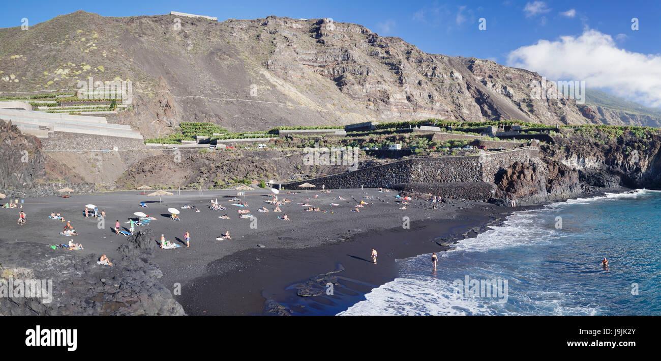 Playa De Charco Verde Puerto Naos La Palma Canary Islands