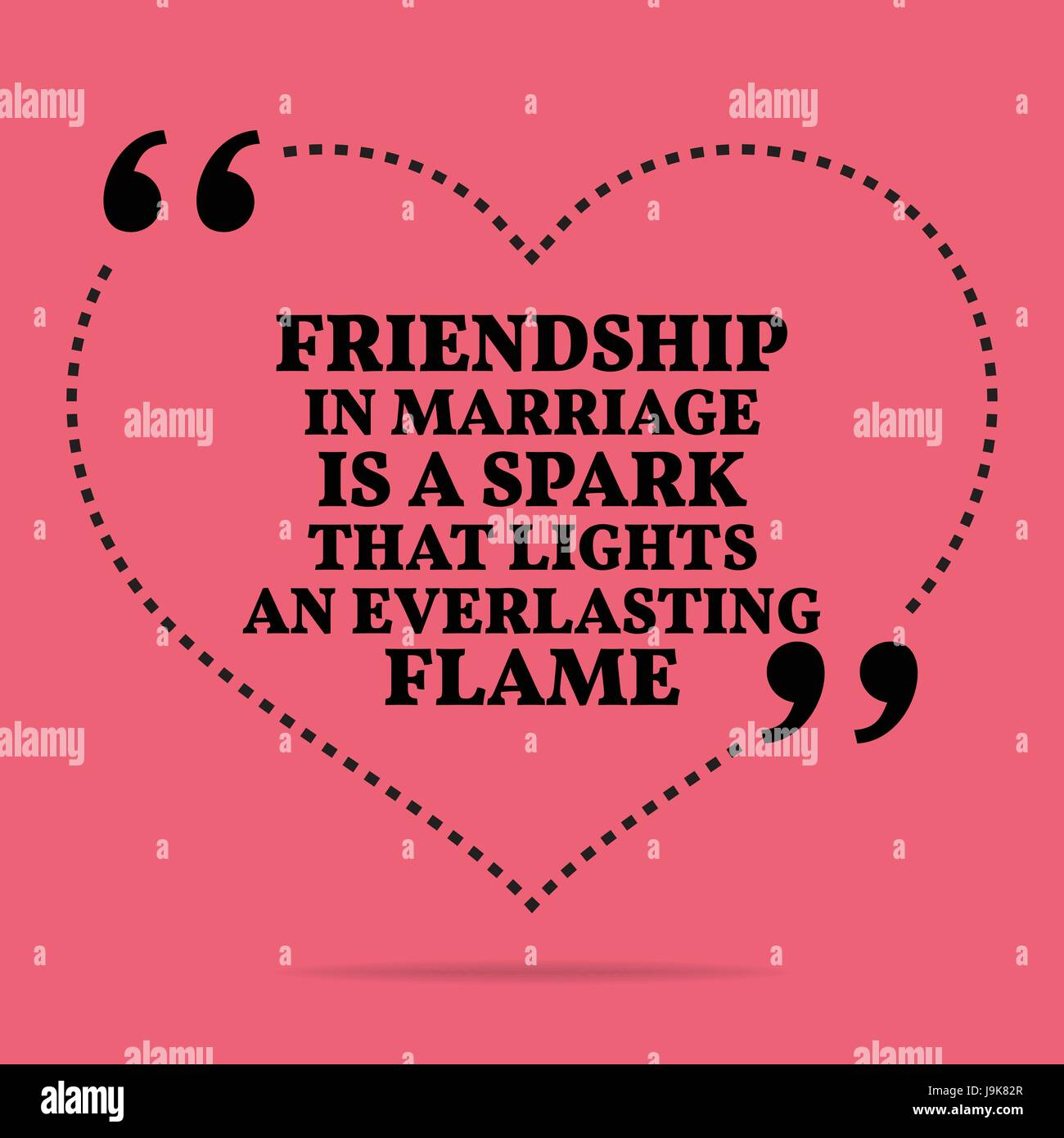 Inspirational Love Marriage Quote Friendship In Marriage Is A Spark