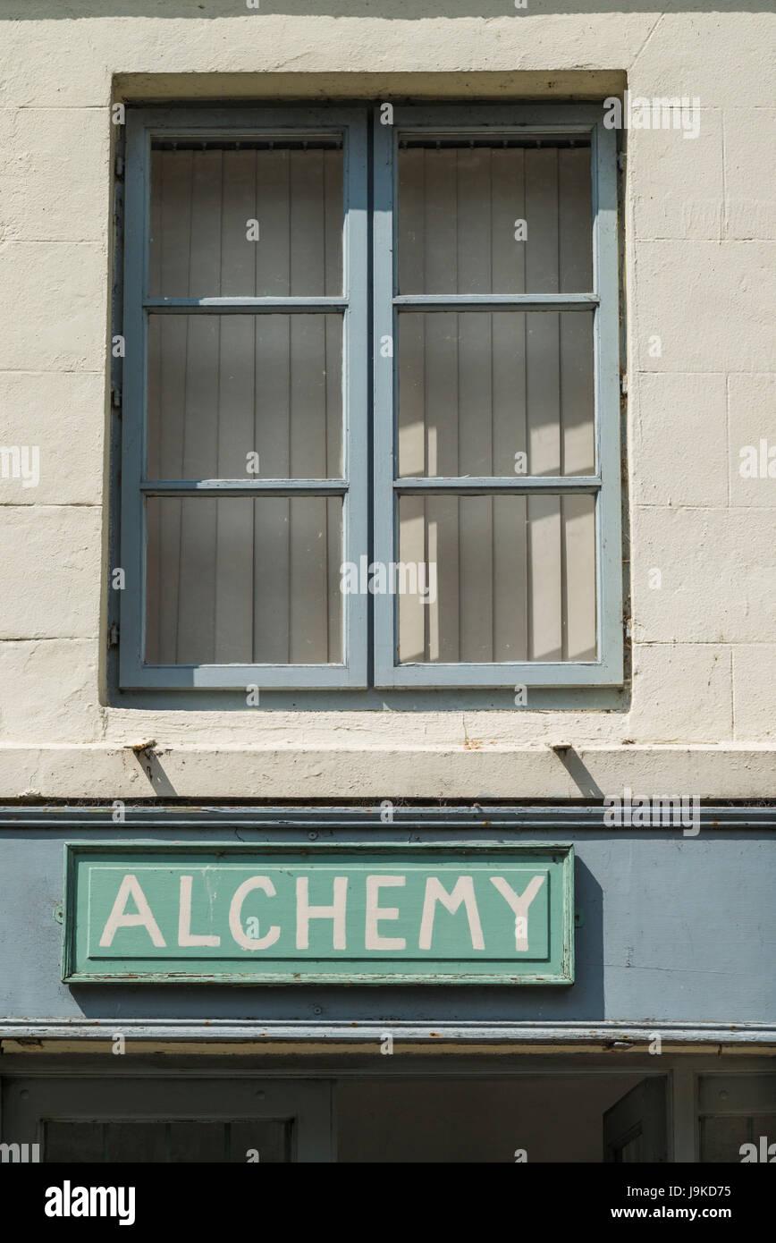 Ireland, County Clare, Killaloe, Alchemy sign - Stock Image