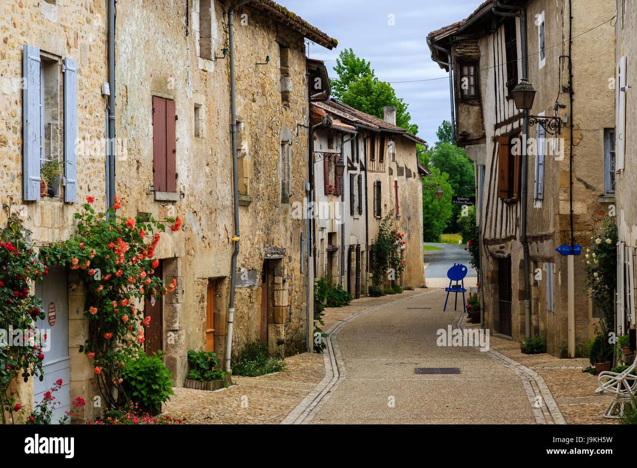 France, Dordogne, Saint Jean de Cole, labelled Les Plus Beaux Villages de France (The Most beautiful Villages of - Stock Image