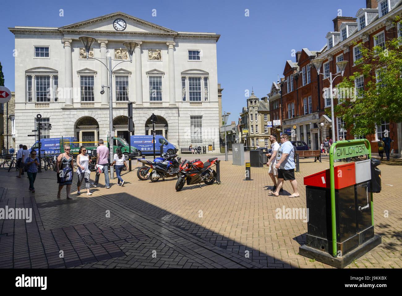 High Street - Chelmsford, Essex, England, UK - Stock Image