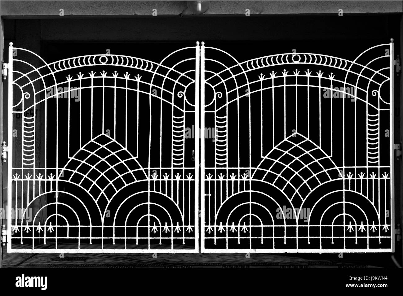 Iron Gate With Beautiful Design Bandra Mumbai Maharashtra India