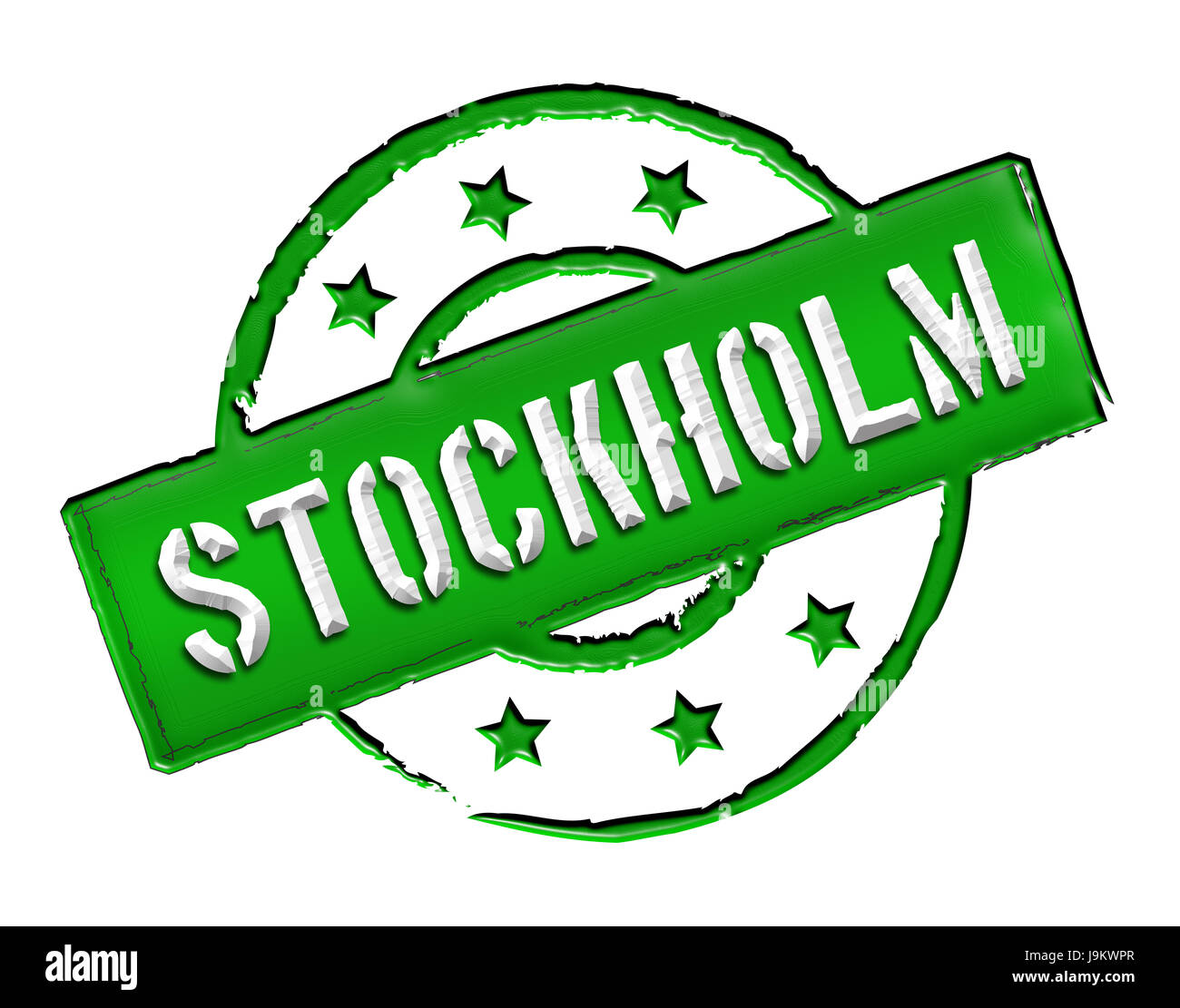 sweden, stockholm, stockhom, capital, suede, isolated, sweden, caution, - Stock Image