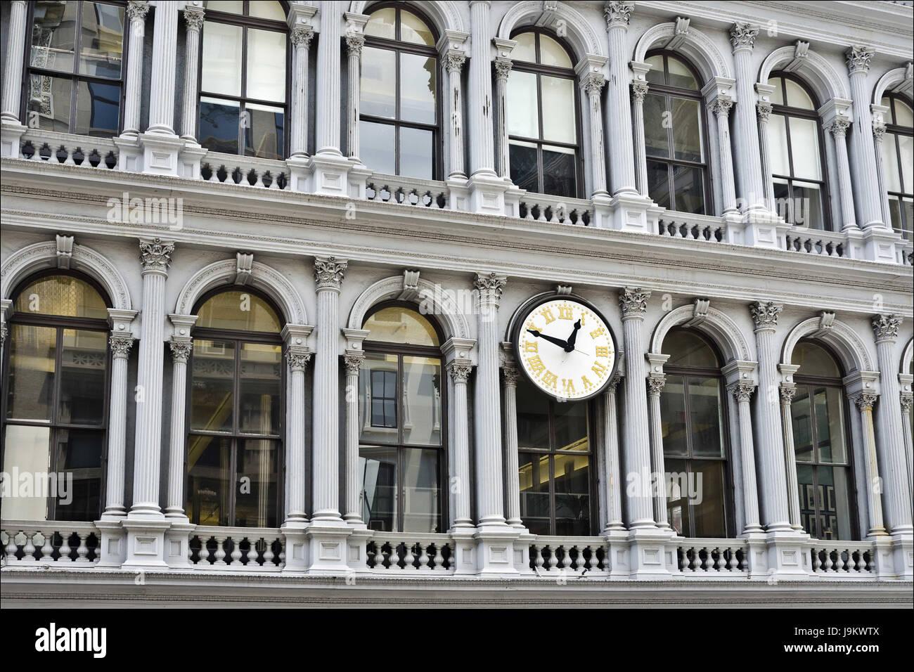 e v haughwout building, new york, usa - Stock Image