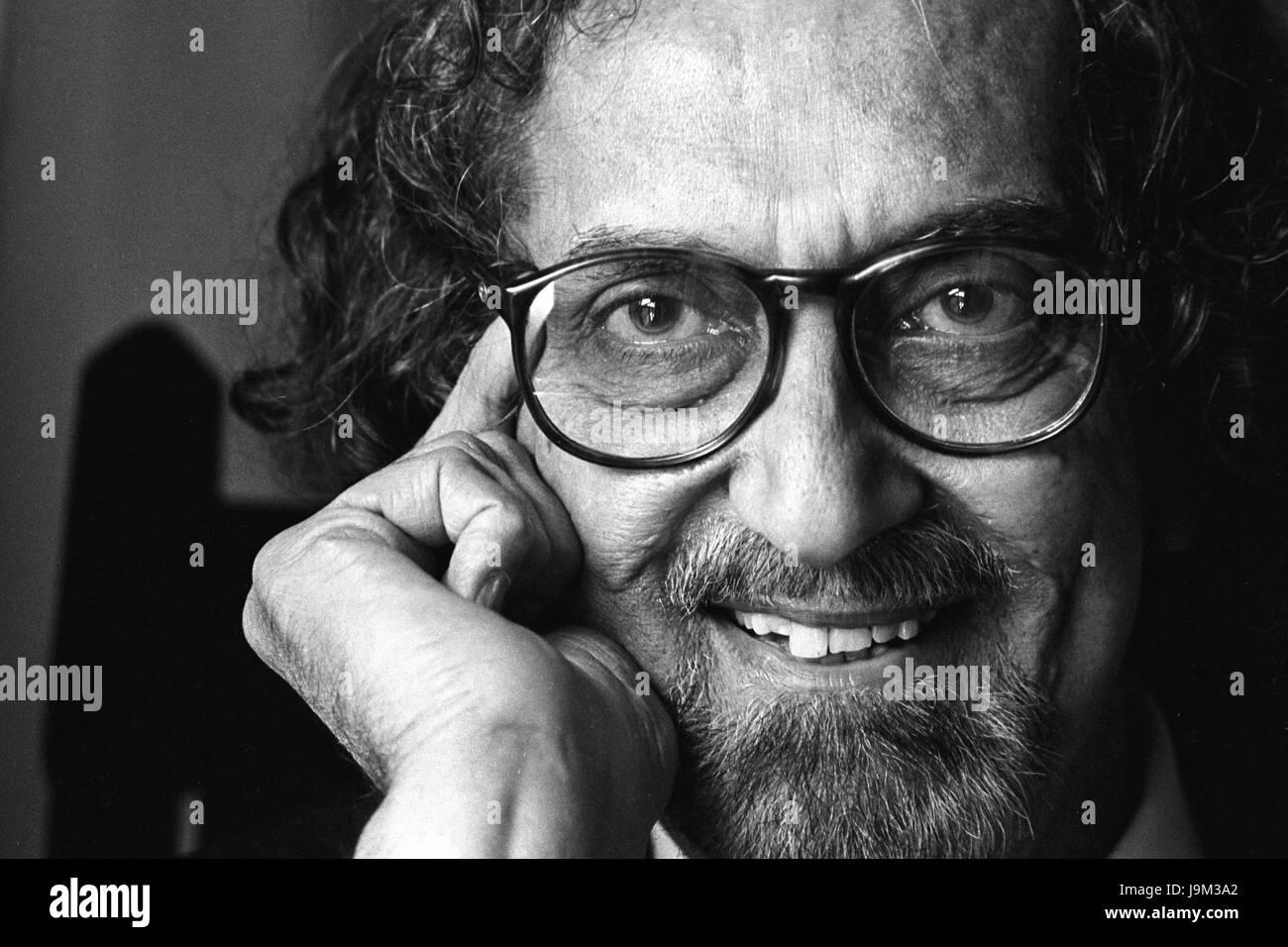 Alyque Padamsee, Indian ad film maker, India, Asia - Stock Image