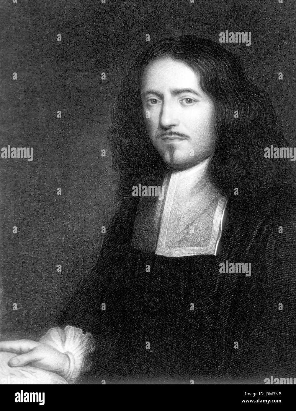 MARCELLO MALPIGHI (1628-1694) Italian physician and biologist - Stock Image
