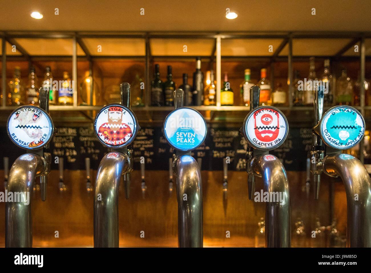 Drygate Brewery - Glasgow, Scotland, UK - Stock Image