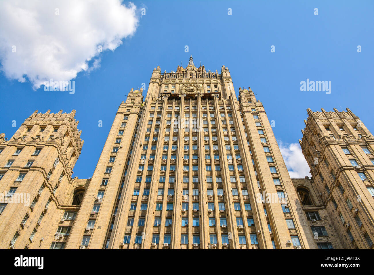 Ministry of Foreign Affairs of the Russian Federation building - Stock Image
