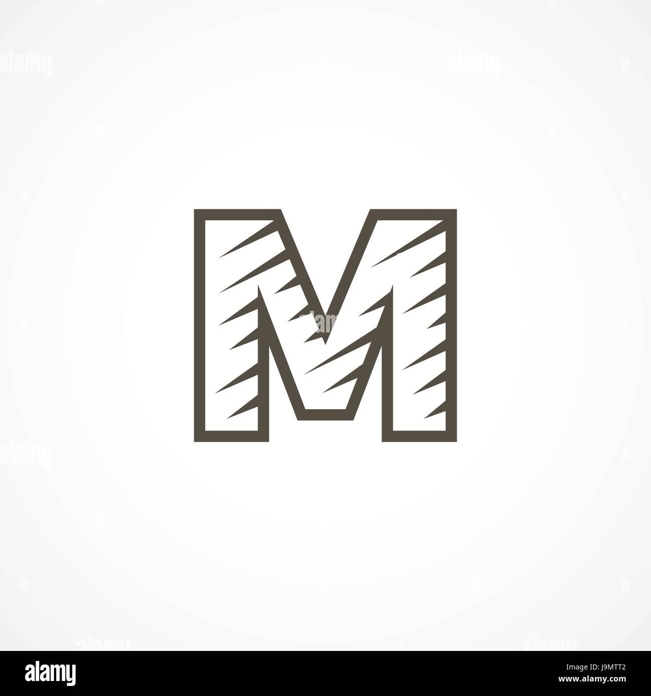 Buchstabe M Logo Vorlage Business Logo Vorlage