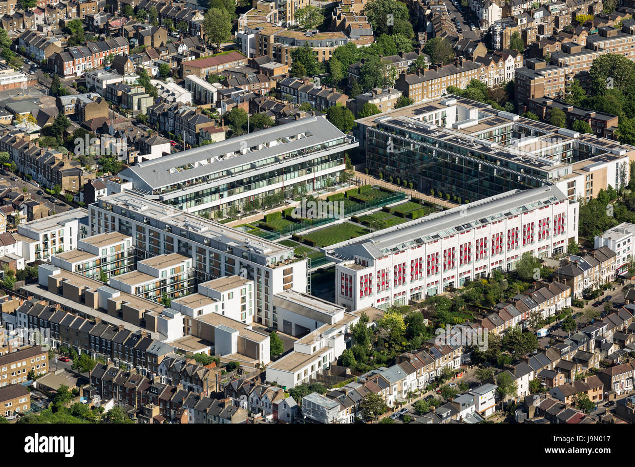 Highbury The Former Home Of Arsenal Football Club Has Been Converted Stock Photo Alamy
