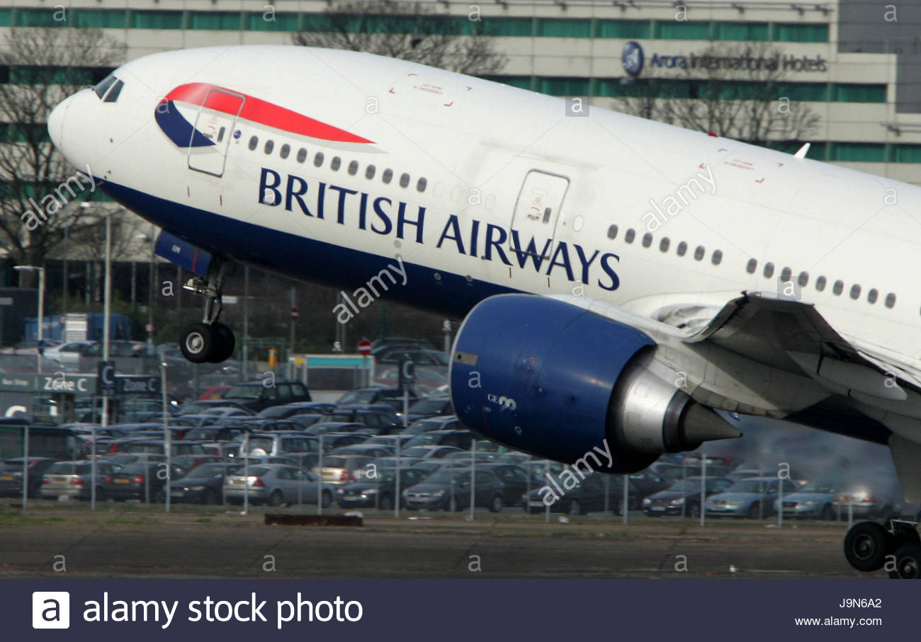 Undated file photo of a British Airways Boeing 777 taking off. The airline's  cabin crew are to stage fresh strikes in a long running dispute over pay.