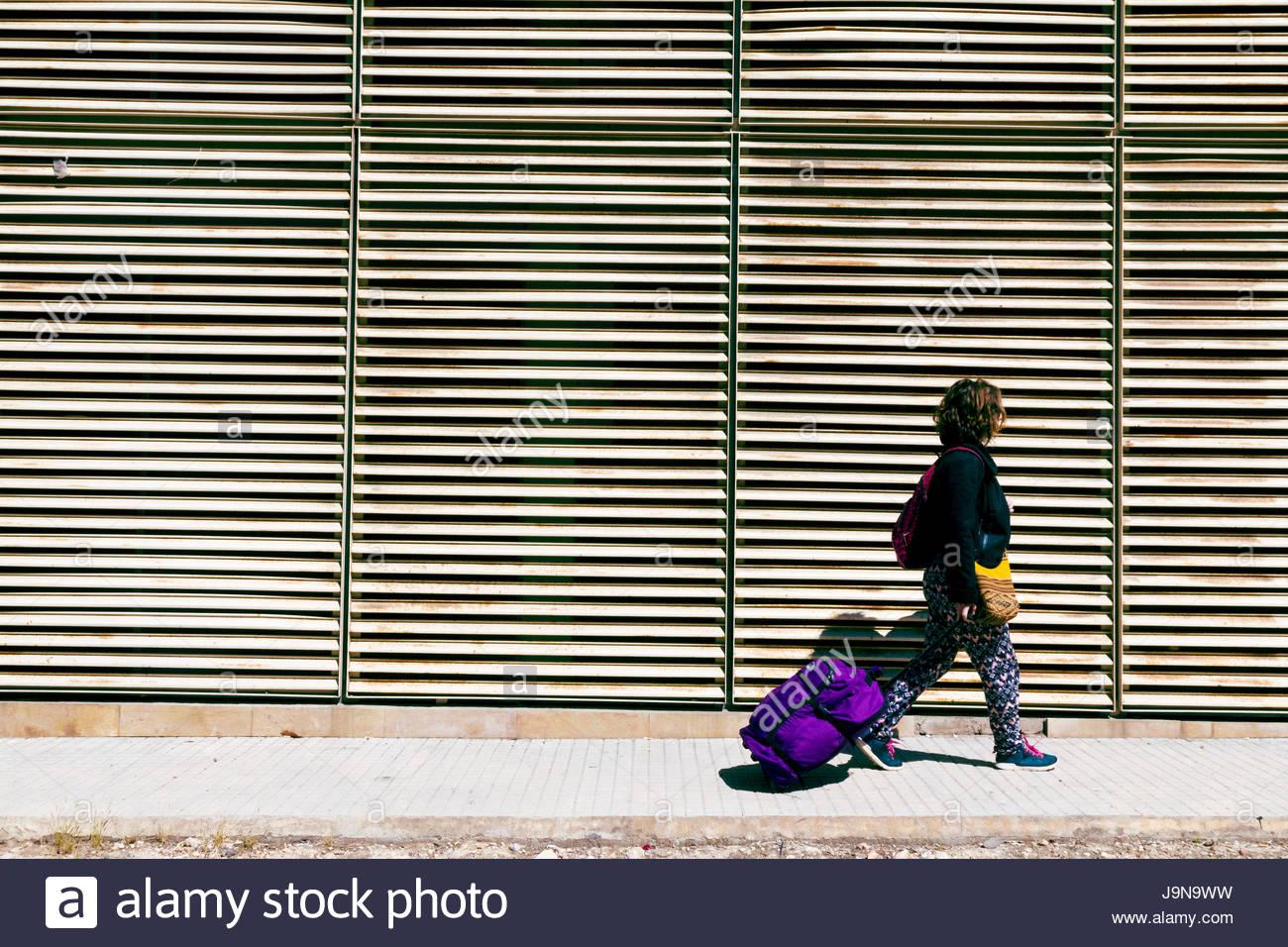 Personas Caminando - Stock Image