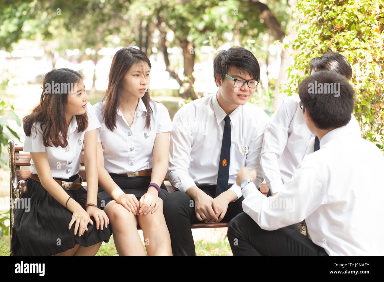 Bangkok, Thailand - November 17, 2015 : King Mongkut's Institute of Technology Ladkrabang is a research and - Stock Image
