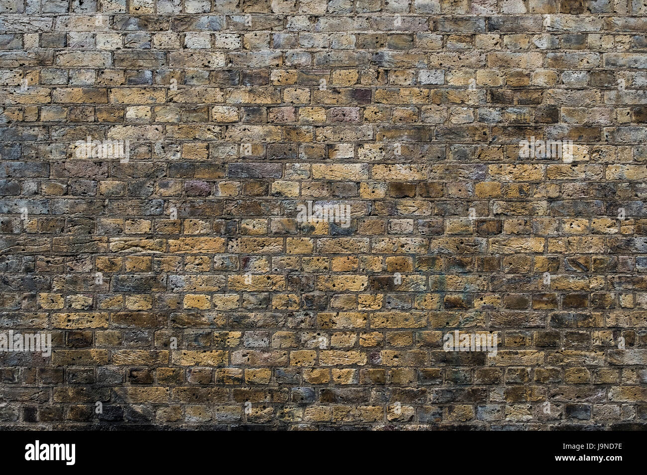 London clay brick background / wallpaper - Stock Image