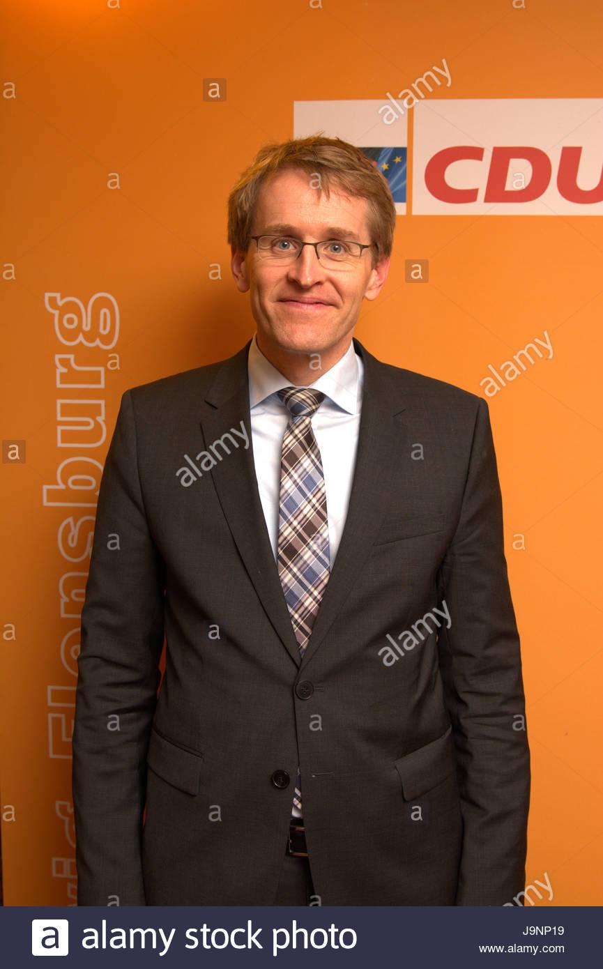Daniel Günther - Exklusives Portrait des CDU Spitzenkandidaten für die Landtagswahl in Schleswig-Holstein - Stock Image
