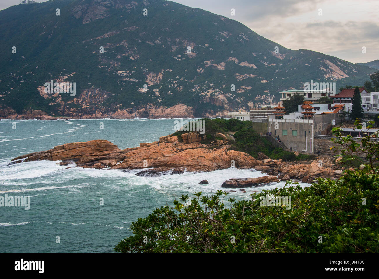 Shek-O, Hong Kong and South China Sea - Stock Image