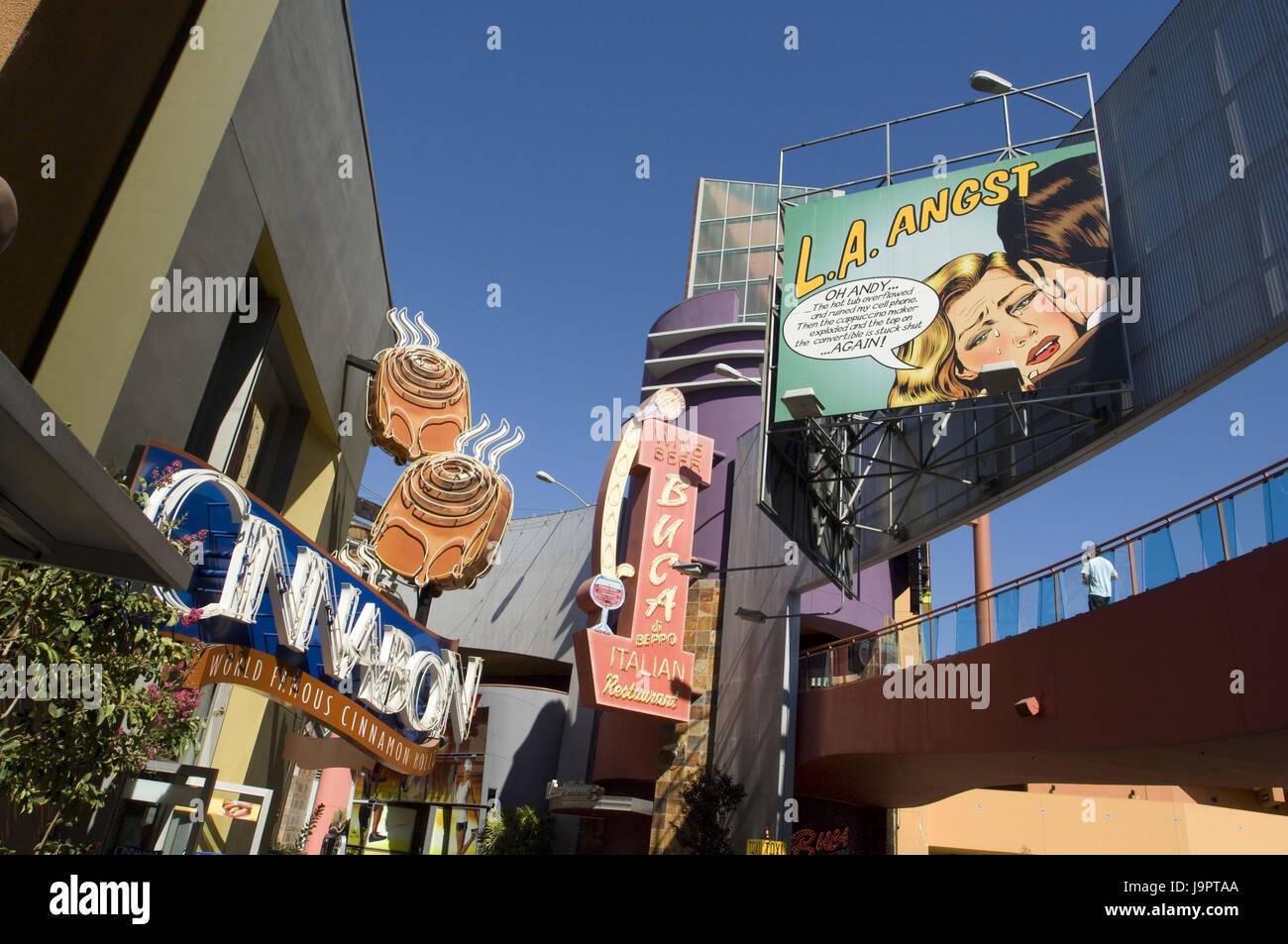 Citywalk Universal Studios Stock Photos & Citywalk Universal