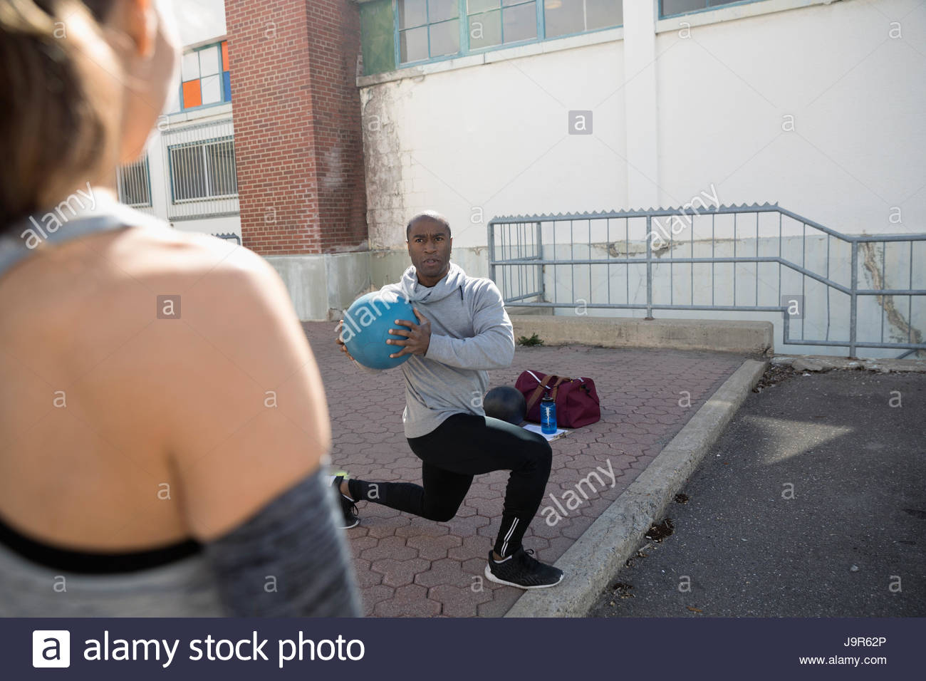 Personal Trainer African American Stock Photos  Personal -8309