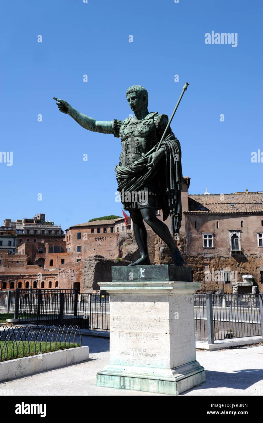 rome emperor nero - Stock Image