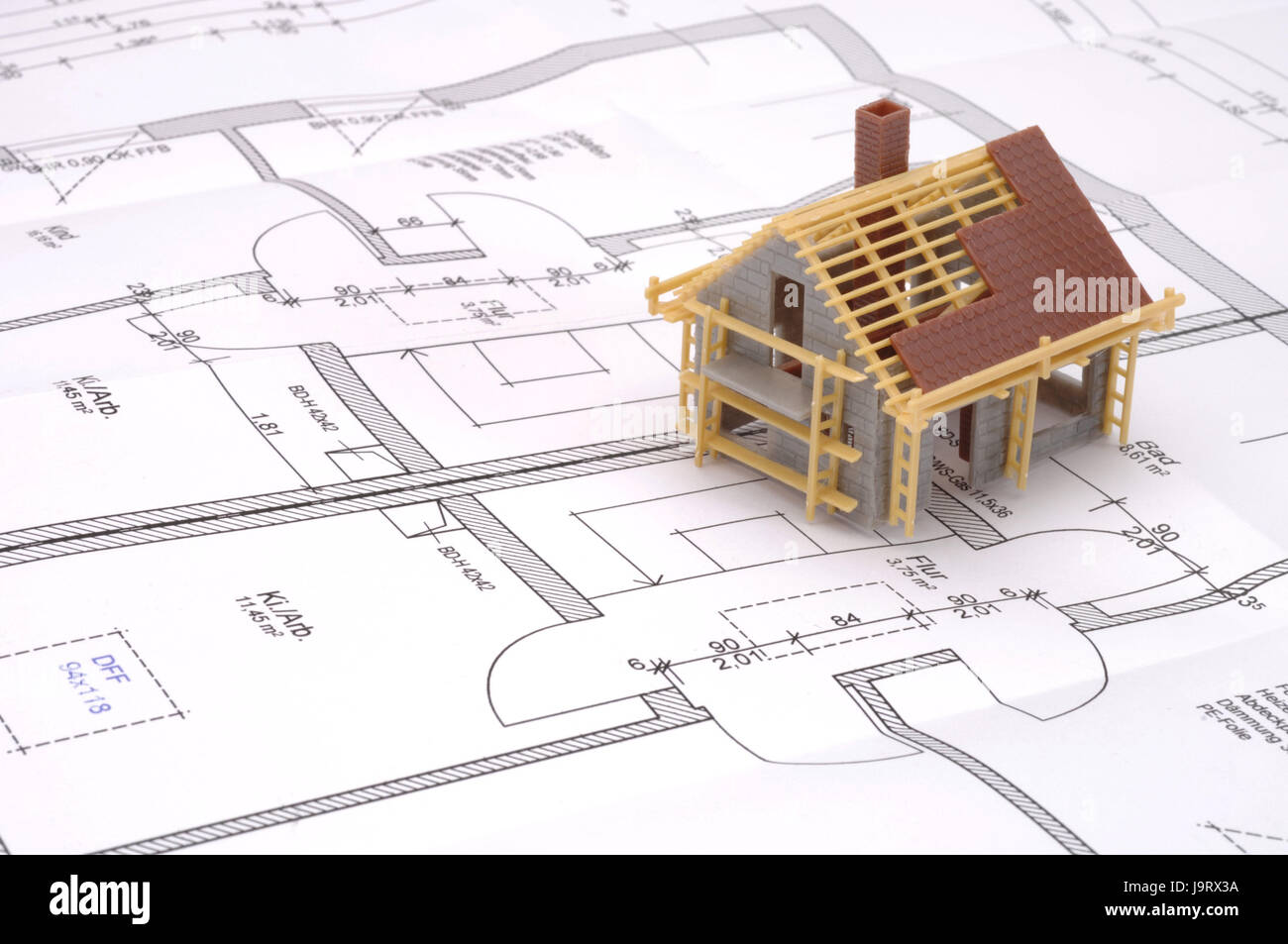 Icon,building of a house,planning,architect\'s plans,model Stock ...