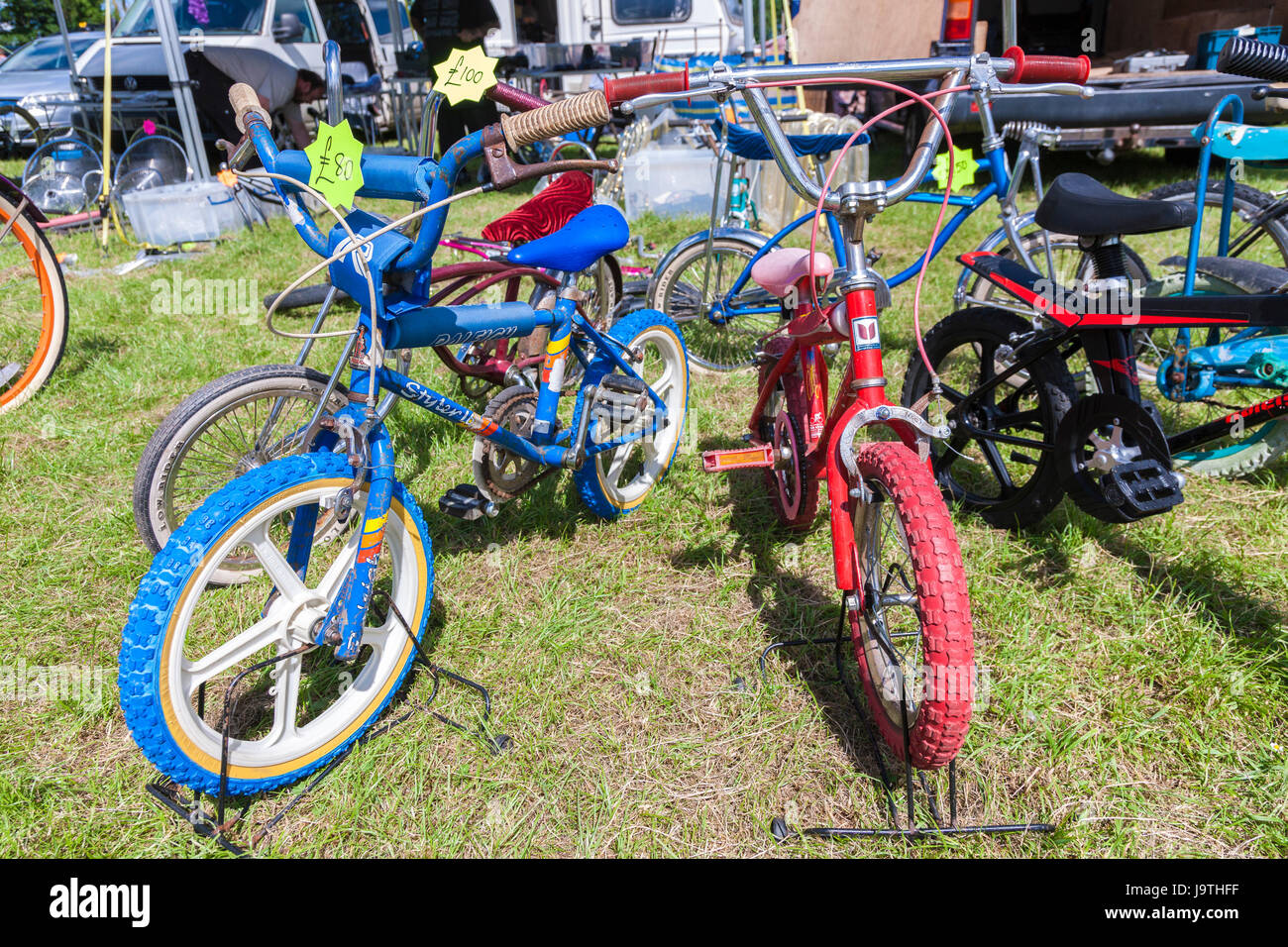 Billing Aquadrome, Northampton, U.K. 3rd June 2017. Raleigh chopper and Muscle Bike Show is a gathering of this - Stock Image