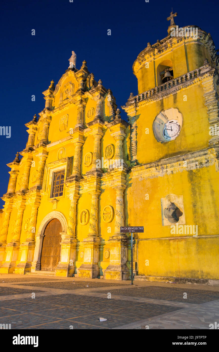 Church of the Recollection - Léon, Nicaragua - Stock Image
