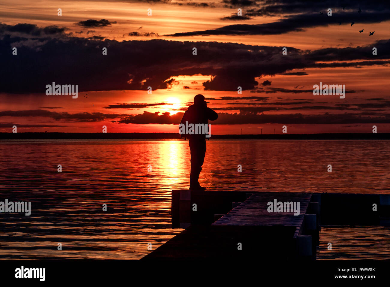 photographer and decline - Stock Image