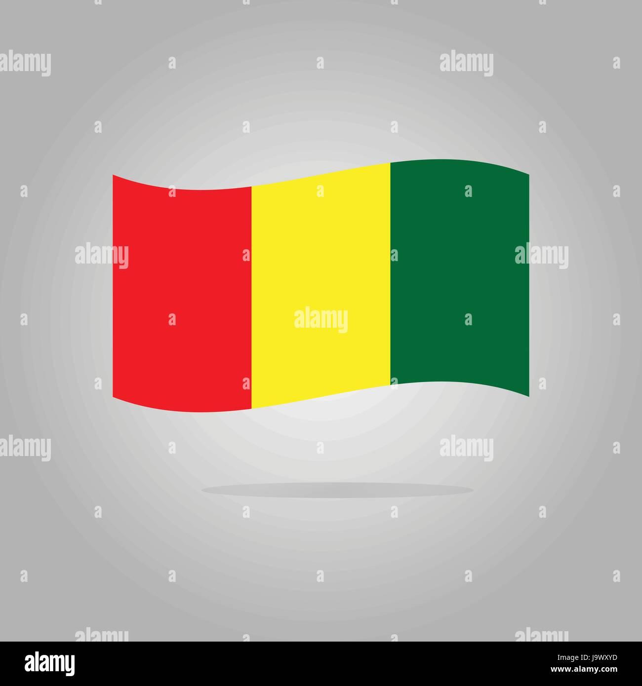 flag design illustration - Stock Image