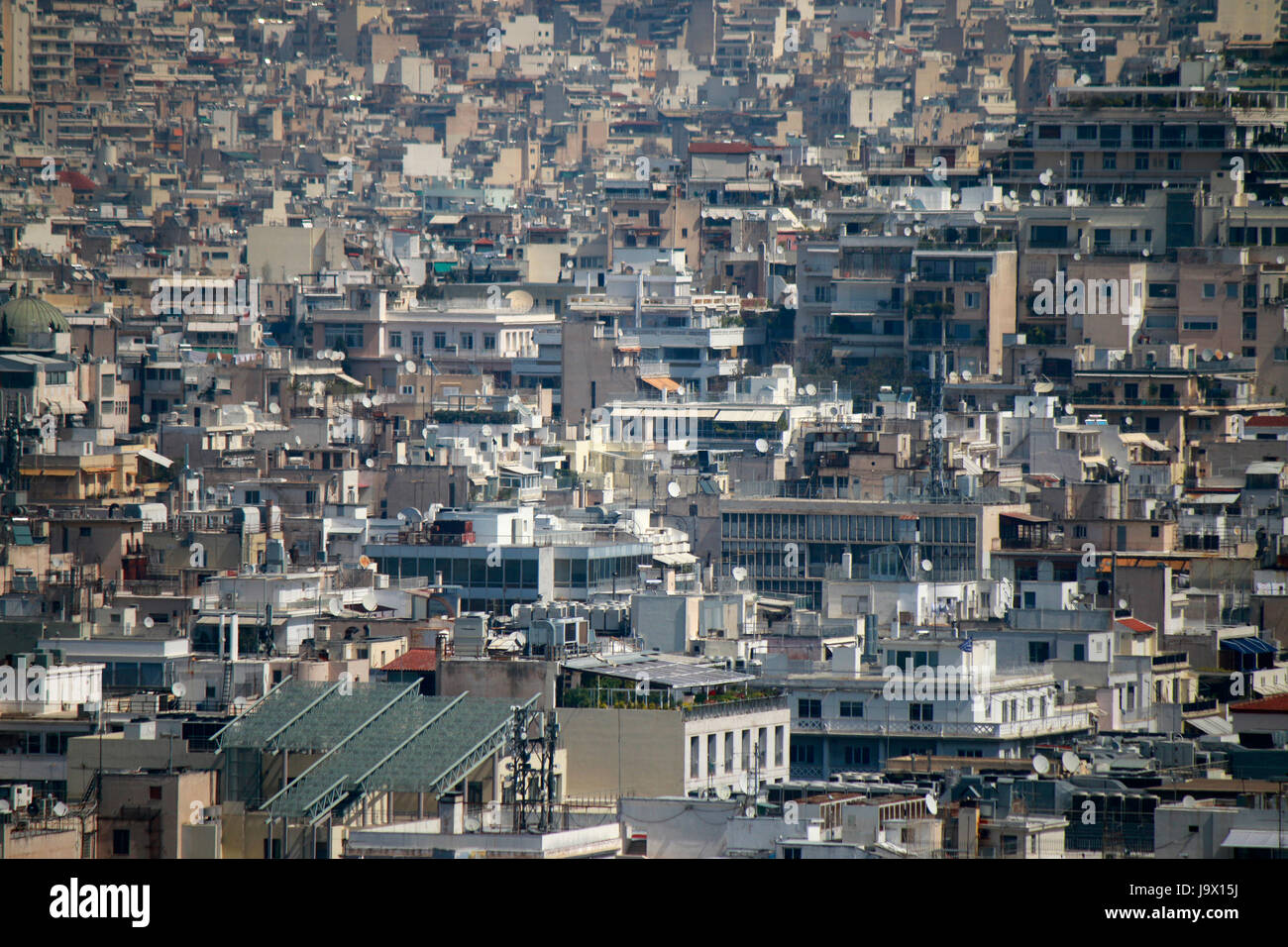 Skyline: Athen, Griechenland. Stock Photo