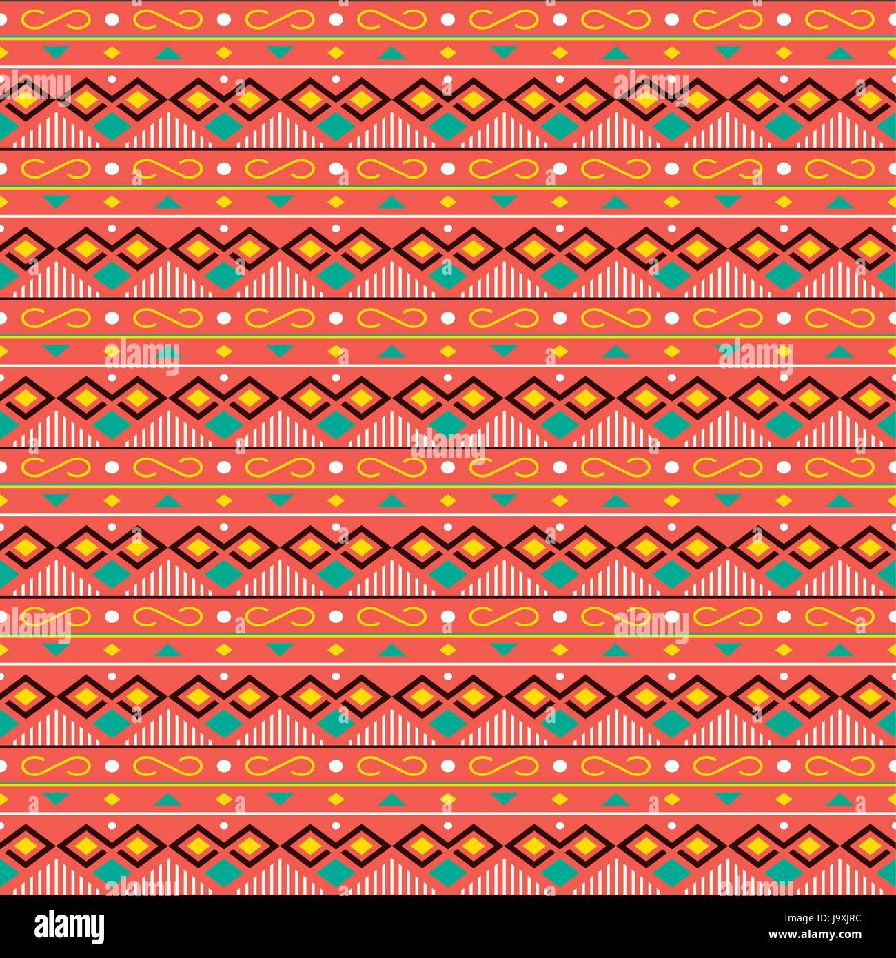 Ethnic Boho Seamless Patterns Vintage Ornament Background