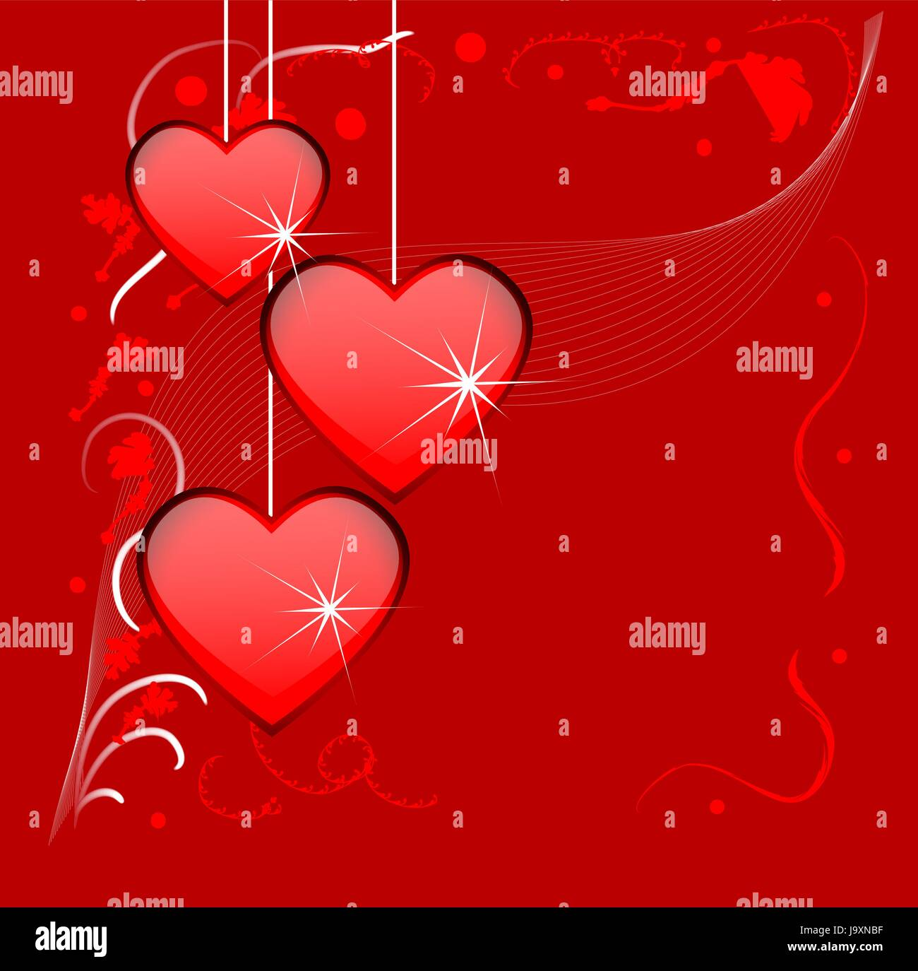 Bright red background with hearts to the day of saint valentin stock bright red background with hearts to the day of saint valentin thecheapjerseys Image collections