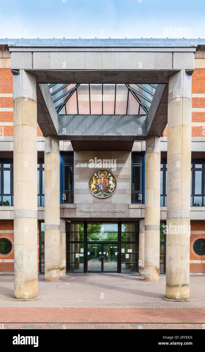 Teesside Crown Court Middlesbrough - Stock Image