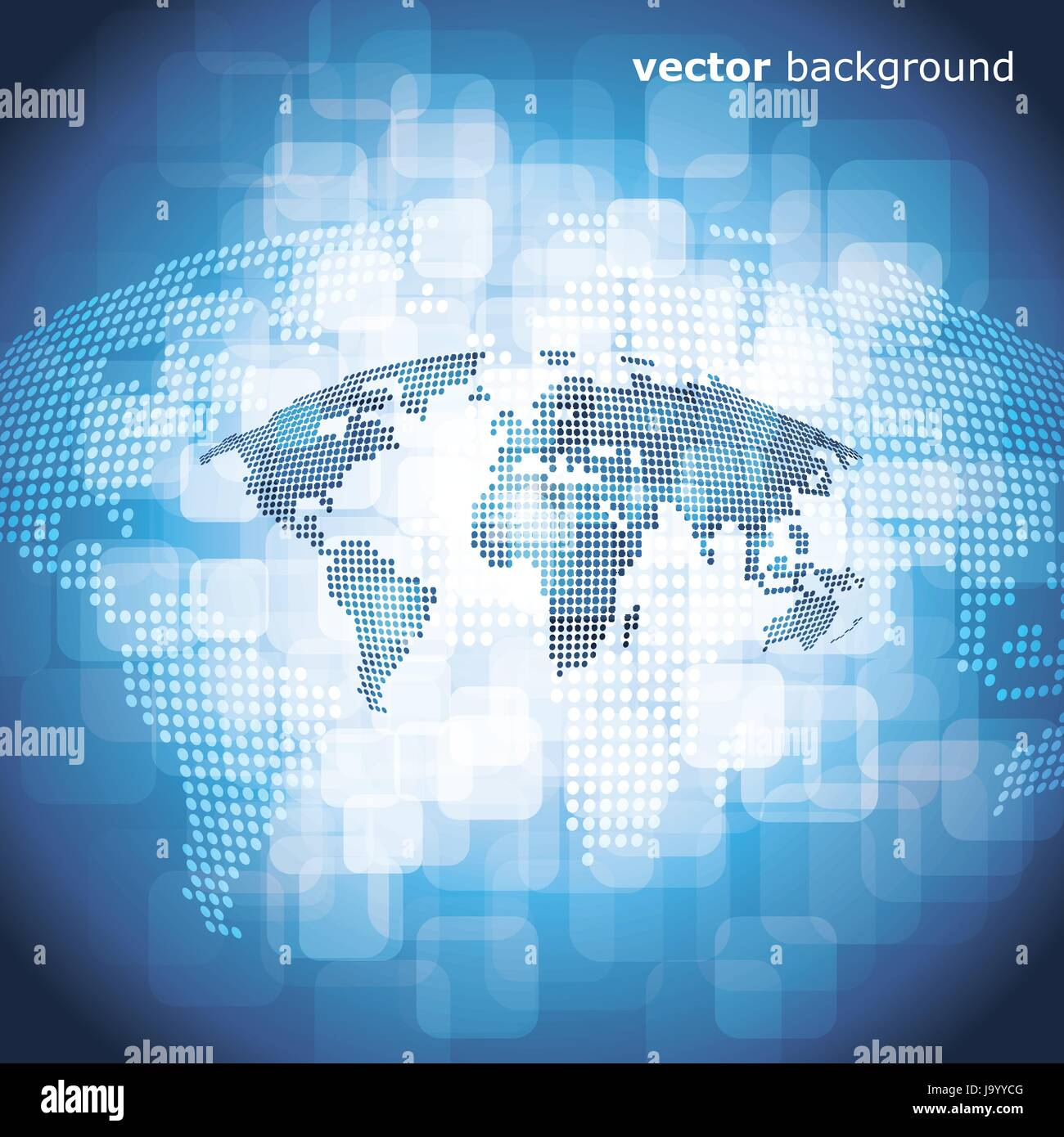 3d abstract blue world map background vector illustration stock 3d abstract blue world map background vector illustration gumiabroncs Choice Image