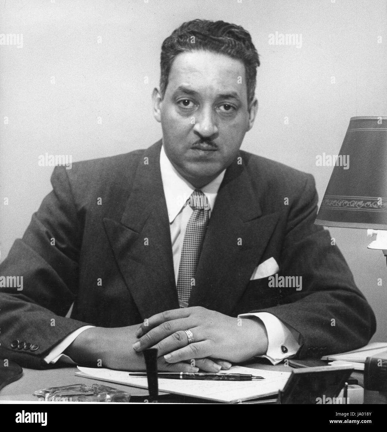 Thurgood Marshall, special counsel of the National Association for the Advancement of Colored People, New York, - Stock Image