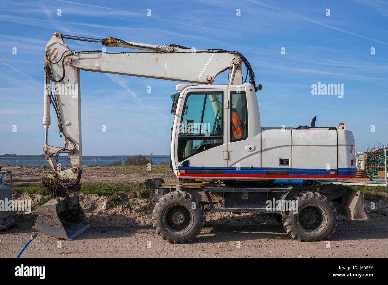 Bagger - Stock Image