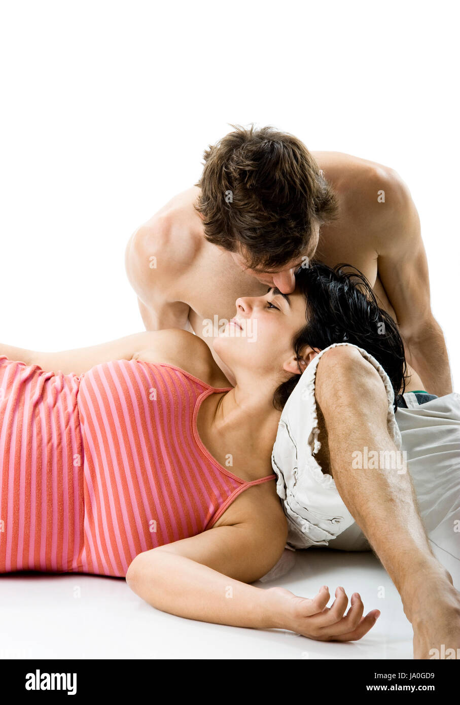 Woman Beautiful Beauteously Nice Romantic Pregnancy Pregnant Stock Photo Alamy