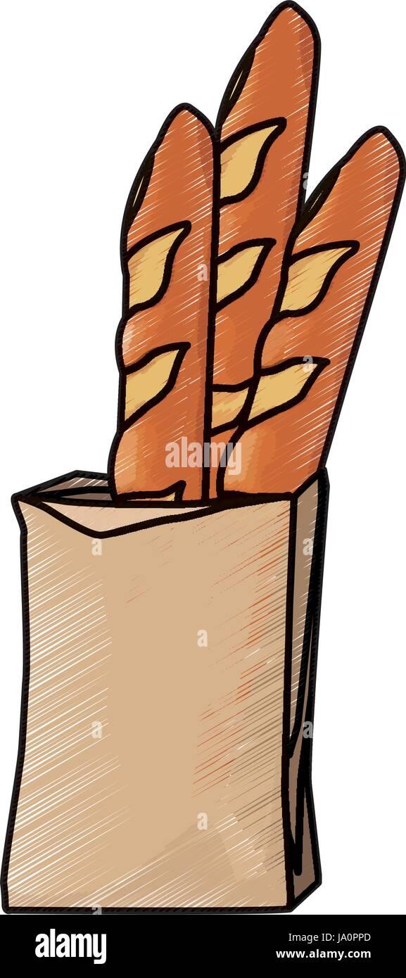 Bread In A Paper Bag Loaf Baguette