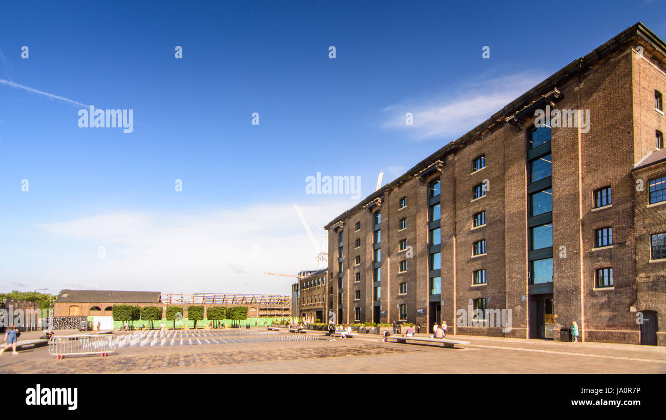 London, England - August 8, 2016: The new location of the University of the Arts in old London and North Eastern - Stock Image