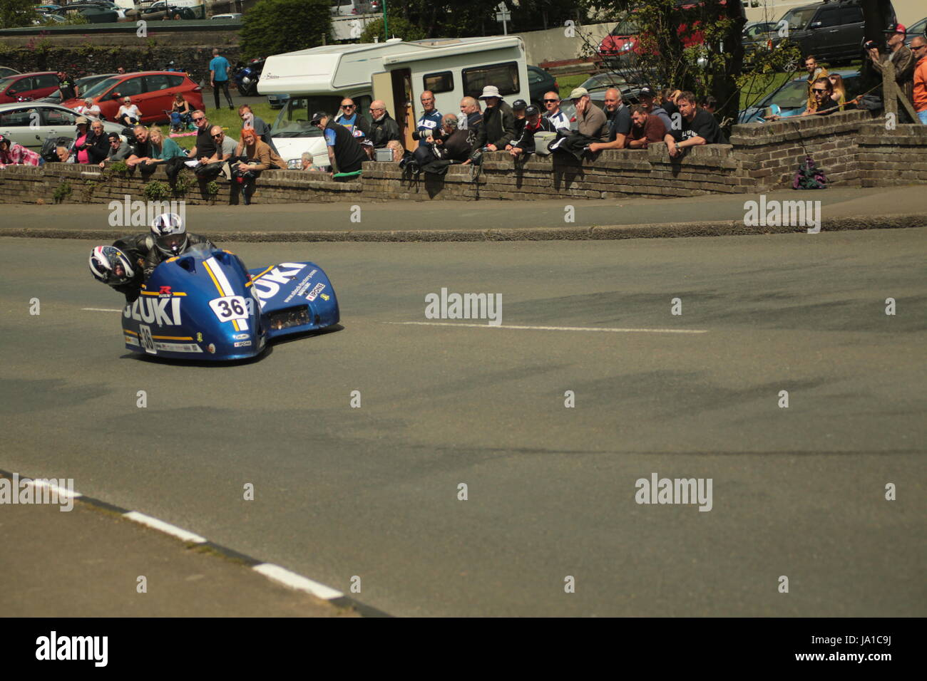 Isle of Man TT Races, Sidecar, Supersport/Lightweight/Newcomers (all