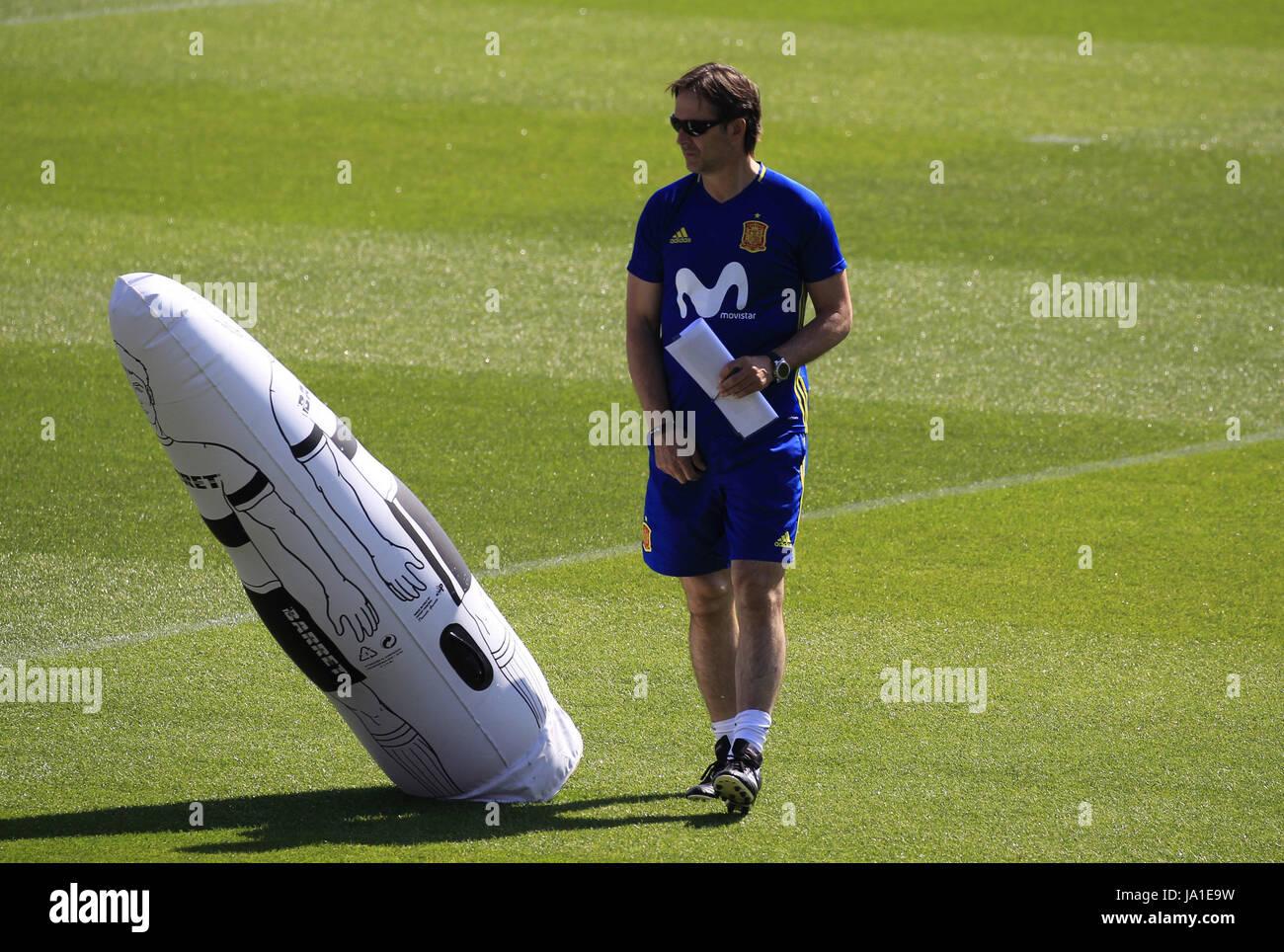 Spanish National soccer team's head coach, Julen Lopetegui