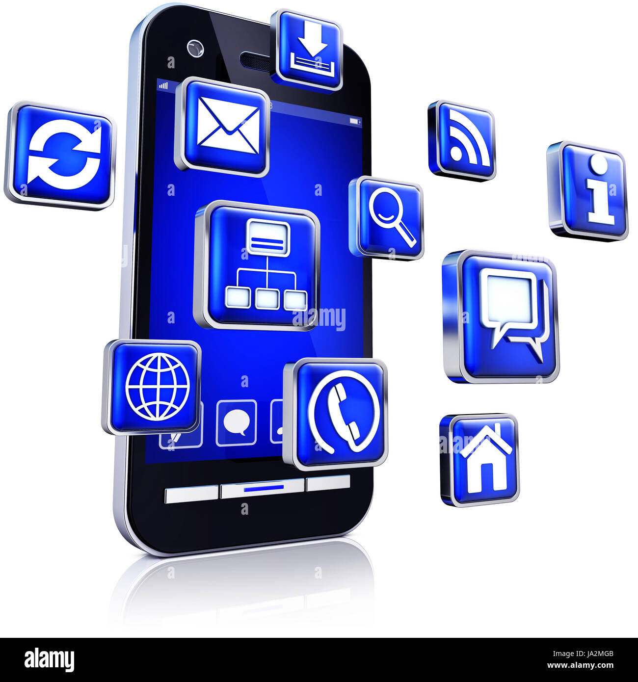 telephone, phone, programs, download, internet, www, worldwideweb, net, web, - Stock Image