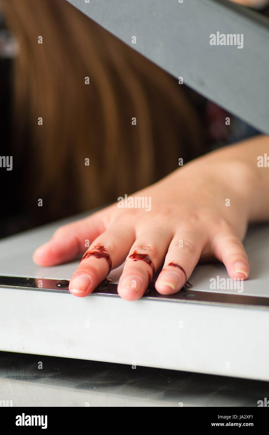 Paper Cut Accident Stock Photos Paper Cut Accident Stock Images