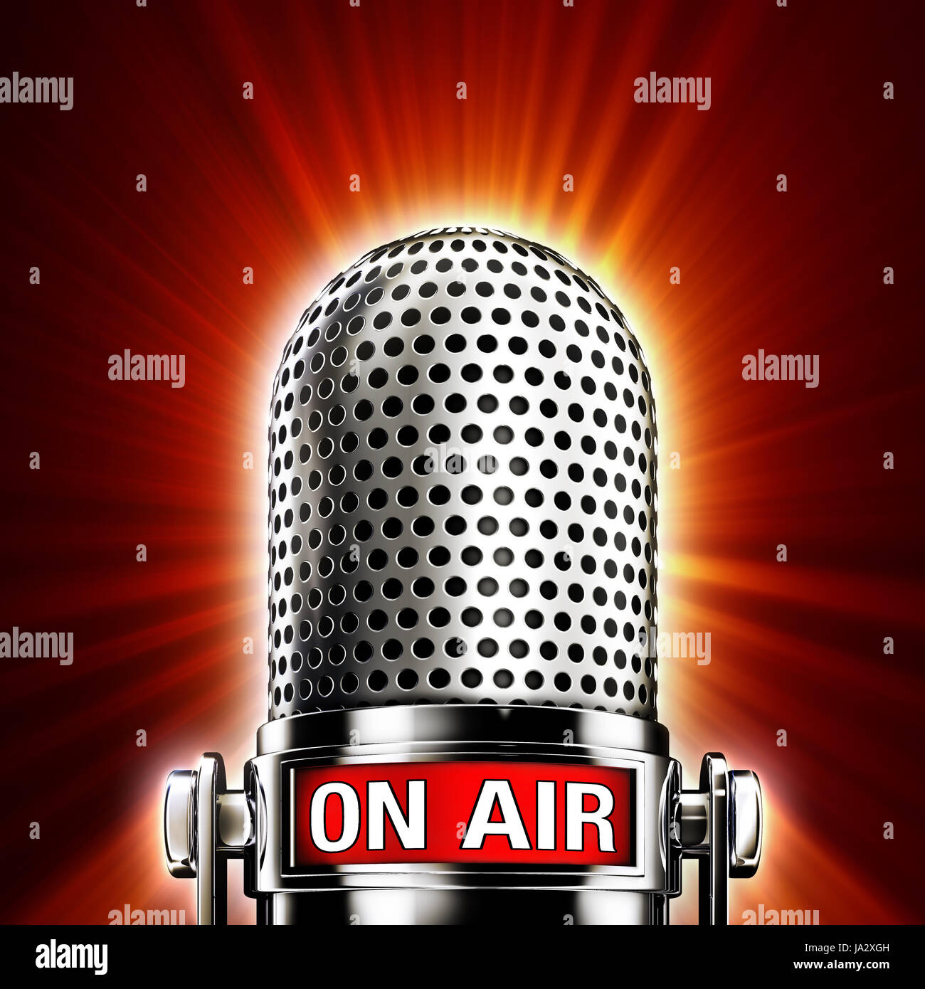 entertainment, radio, microphone, shipment, transmission, broadcast, sign, Stock Photo