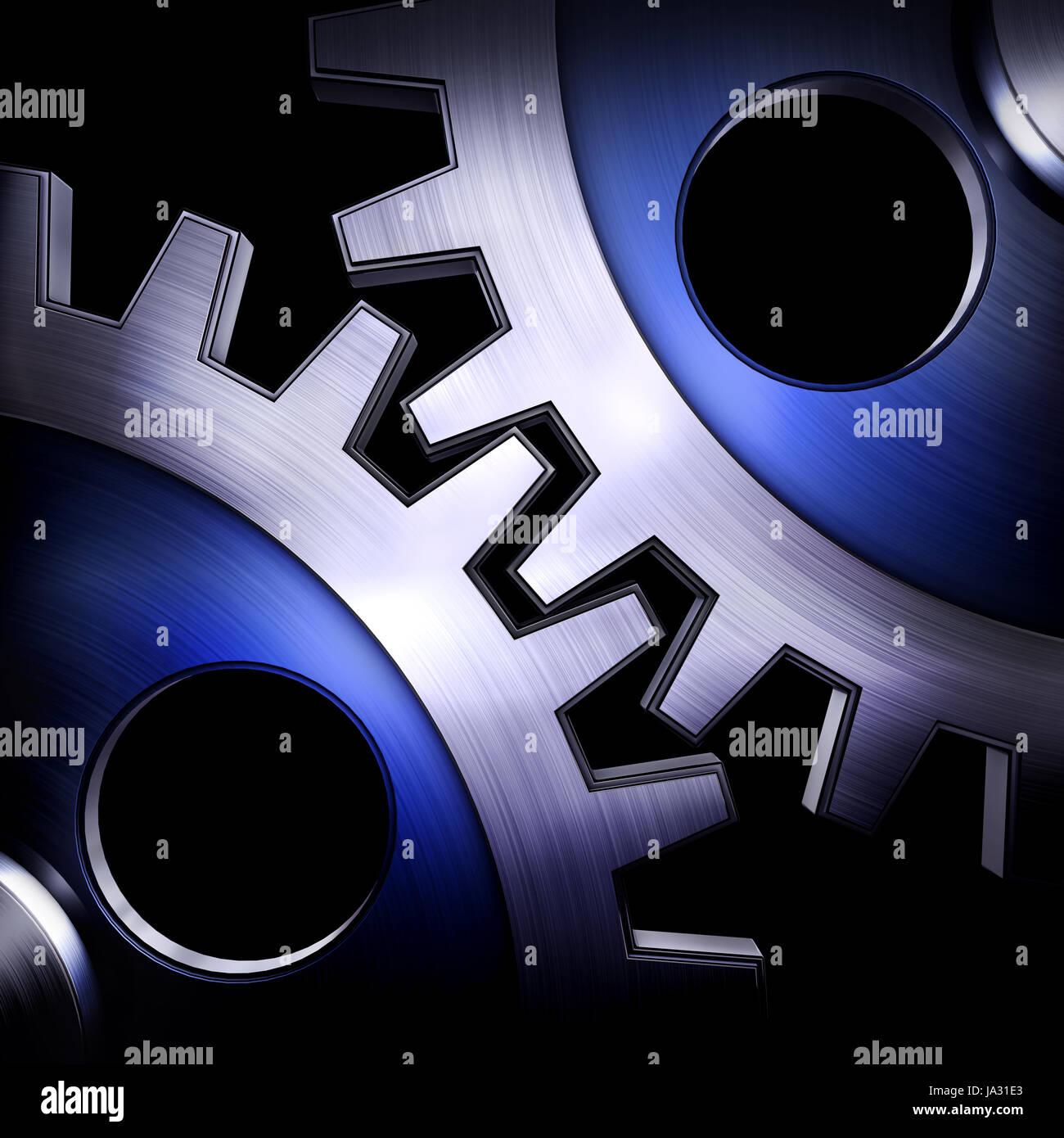 gear wheels, teamwork, economic situation, economy, upswing, bull market, boom, Stock Photo