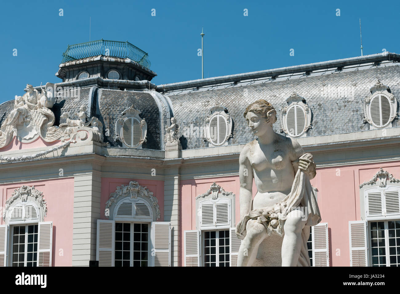 baroque, germany, german federal republic, style of construction, architecture, Stock Photo