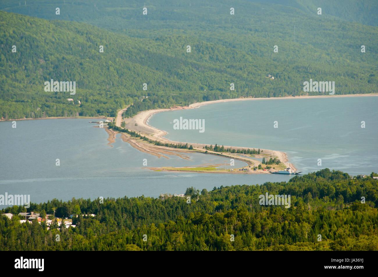 Great Bras D'Or - Nova Scotia - Canada - Stock Image