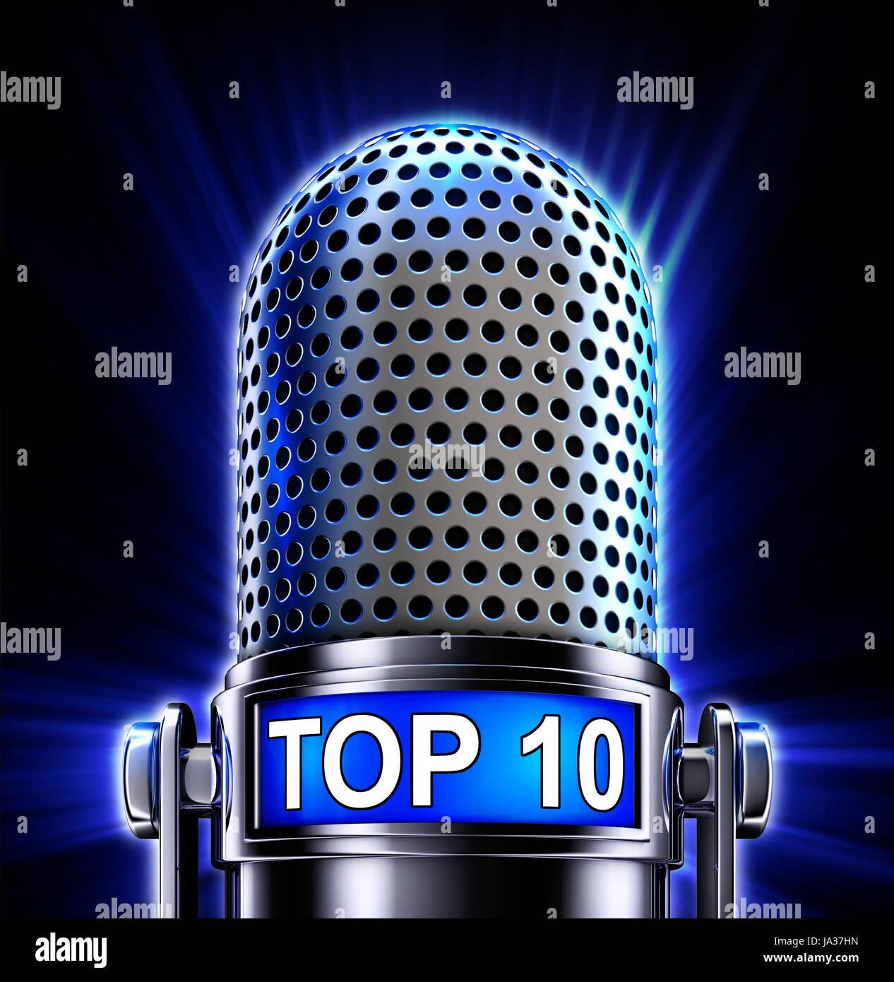 radio, microphone, shipment, broadcast, sign, signal, talk, speaking, speaks, Stock Photo