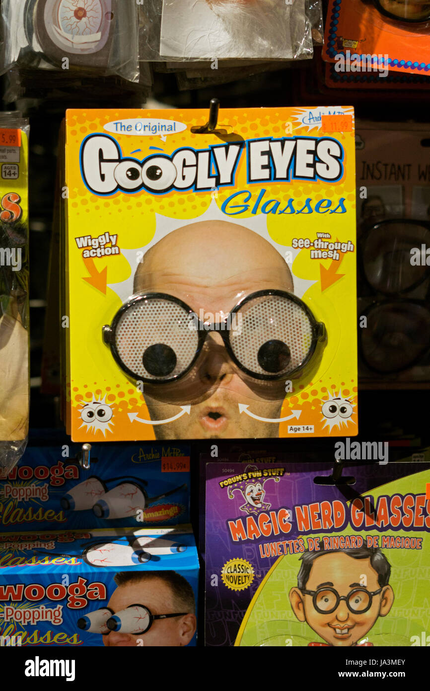 googly eyes glasses for sale at the halloween adventure costume shop